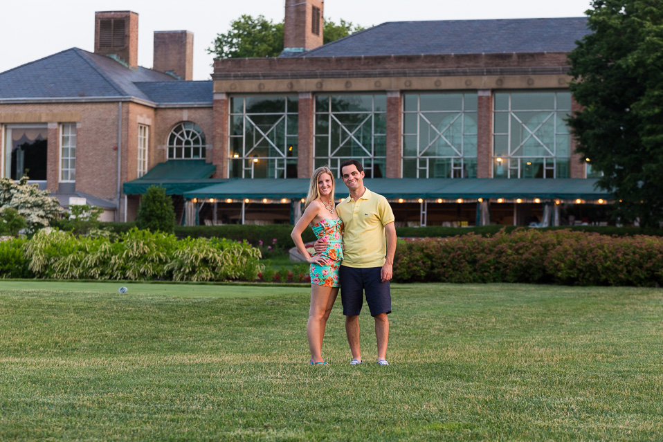 Engagement Photos At Dupont Country Club With Amy And Ryan